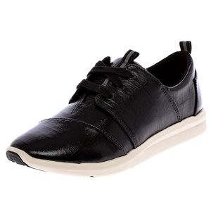Toms Del Rey Black Sneakers